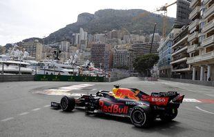 Le pilote néerlandais Max Verstappen (Red Bull) lors du Grand Prix de Monaco, le dimanche 23 mai 2021.