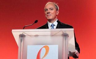 Le PDG de France Telecom Stéphane Richard à Paris, le 24 février 2011.