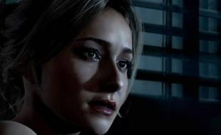 Hayden Panettiere dans le jeu Until Dawn.