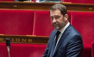 Christophe Castaner s'est accroché avec Marine Le Pen, à l'Assemblée nationale, au sujet de l'affaire Benalla. (illustration)