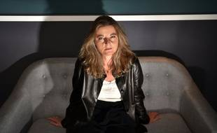 """""""Si on baille d'ennui, on manque notre objectif"""", affirme Sandrine Treiner, ici le 14 mai 2016 à Cannes lors de la remise du prix France Culture"""