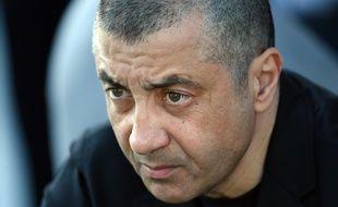 Le président du RC Toulon, Mourad Boudjellal, le 4 avril 2014.