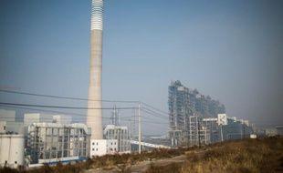 L'usine d'extraction d'hydrocarbures à partir de charbon de Changzhi le 9 novembre 2015