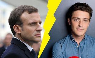 Emmanuel Macron et Martin Weill ne sont pas vraiment les meilleurs amis du monde.