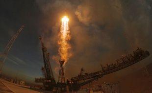 Une fusée Soyouz décolle du cosmodrome de Baïkonour, au Kazakhstan, le 3 décembre 2018.