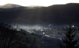 (Photo d'illustration) Un village dans la montagne vosgienne.
