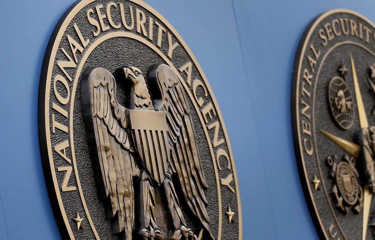L'emblème de l'agence américaine de surveillance National Security Agency (NSA), à Fort Meade aux Etats-Unis. – Patrick Semansky/AP/SIPA