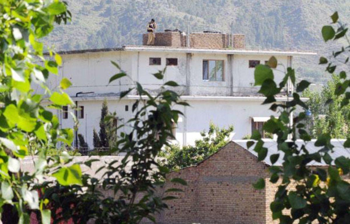 La maison dans laquelle vivait Oussama ben Laden, à Abbottabad au Pakistan, le 2 mai 2011. – VISUAL NEWS/SIPA