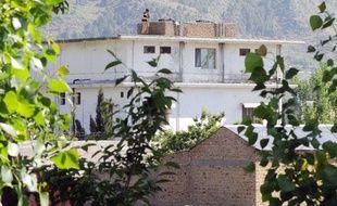 La maison dans laquelle vivait Oussama ben Laden, à Abbottabad au Pakistan, le 2 mai 2011.