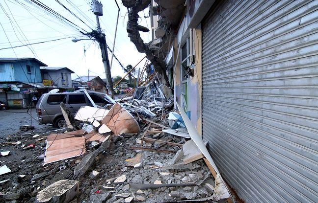 Philippines: Un séisme de magnitude 6,5  fait au moins six morts dans actualitas france 648x415_un-vehicule-coince-sous-les-debris-d-une-ecole-touchee-par-le-seisme-qui-a-frappe-la-ville-de