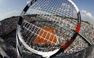Le court Philippe-Chatrier de Roland-Garros, le 29 mai 2012.