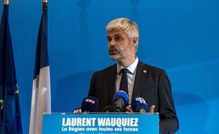 Laurent Wauquiez remporterait la région Auvergne-Rhône-Alpes avec 58% des suffrages selon un sondage Opinion Way publié ce jeudi.