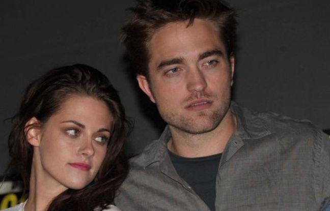 KristenStewart et Robert Pattinson le 12juillet 2012au Comic Con.