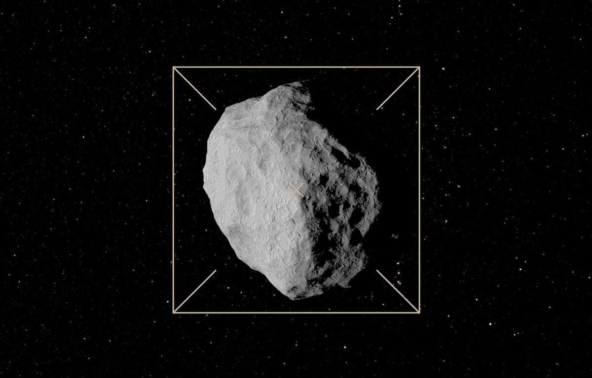 «Didymoon», la cible du programme de défense planétaire Aida. – ESA–Science Office