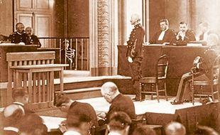 Le second procès d'Alfred Dreyfus s'est tenu durant l'été 1899 à Rennes.