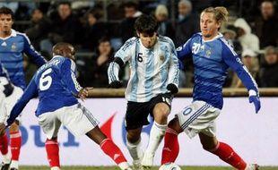 Philippe mexès, lors du match amical contre l'Argentine, le 11 février 2009.