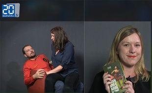 Capture d'écran de la vidéo de La Brune et La Blonde Footpouf.
