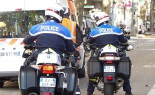 Lyon, la police a interpellé l'homme dans le centre de Lyon. Illustration.