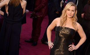 L'actrice Kate Winslet lors de la 88e cérémonie des Oscars.