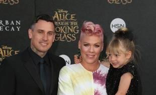 Carey Hart, Pink et leur fille Willow à Los Angeles