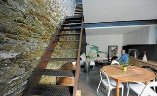 Morgan Delahousse, architecte d'intérieur, fera visiter sa propre maison.