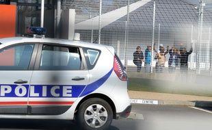 Illustration du centre de rétention administrative de Rennes.