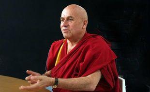 Matthieu Ricard, interprète français du Dalaï-Lama, en 2008.
