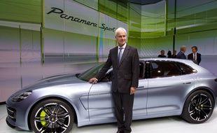 Matthias Muller, le nouveau président de Volkswagen, le 27 septembre 2012