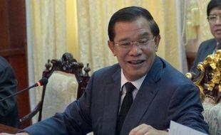 Le Premier ministre cambodgien Hun Sen, le 17 septembre 2013 à Phnom Penh