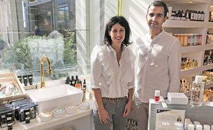 Clara Schisler et Abdelkrim Kiour