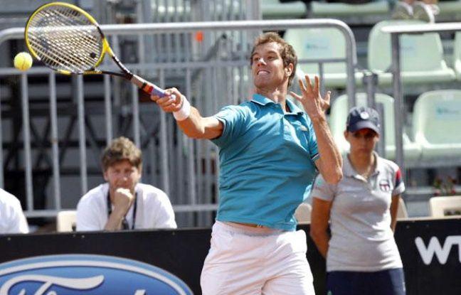 Richard Gasquet au tournoi de Rome, le 17 mai 2012.