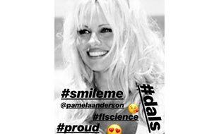 Le message de soutien d'Adil Rami à Pamela Anderson sur Instagram