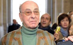 Le vicomte Amaury d'Harcourt au tribunal de Montpellier, le 10 janvier 2010.