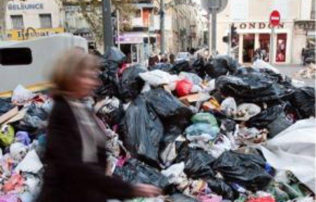 Au quinzième jour de grève, à Marseille.