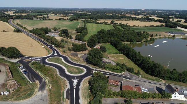 C'est quoi ce rond-point bizarre inauguré au nord de Nantes?