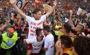 Totti et ses coéquipiers joueront la Ligue des champions l'année prochaine.