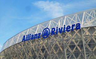 Le stade de Nice Allianz Riviera.