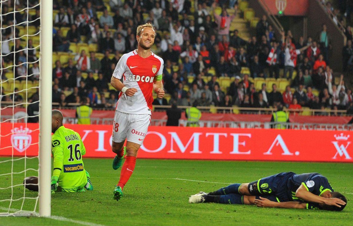 Valère Germain, contre Lille, le 14 mai. – NSJsport/Shutterstock/SIPA