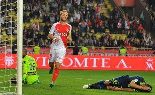 Valère Germain, contre Lille, le 14 mai.