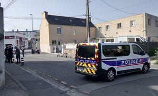 Après la fusillade, le quartier a été bouclé par les forces de l'ordre.