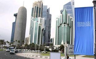 Ouverture du sommet sur le climat des Nations unies, le 26 novembre 2012 à Doha, au Qatar.