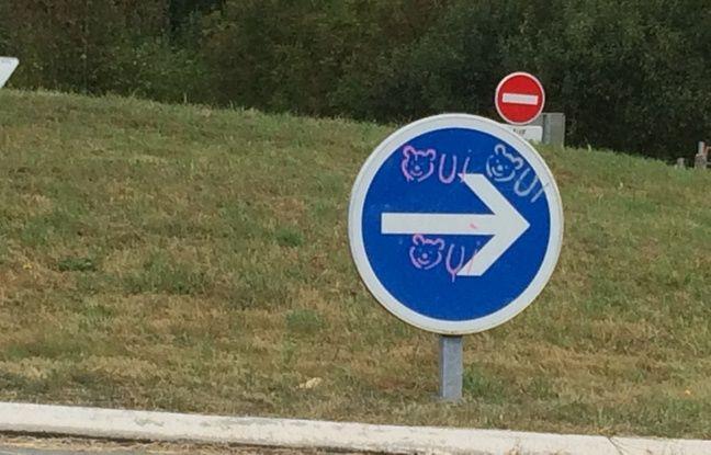 Dans le Béarn, les anti-ours ne sont pas les seuls à s'exprimer sur l'espace public.