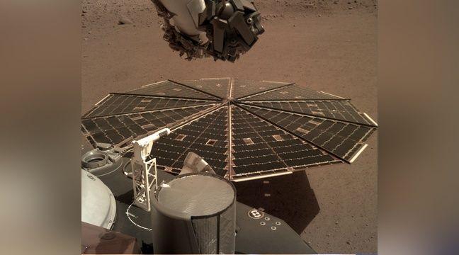 Escucha por primera vez el viento marciano.