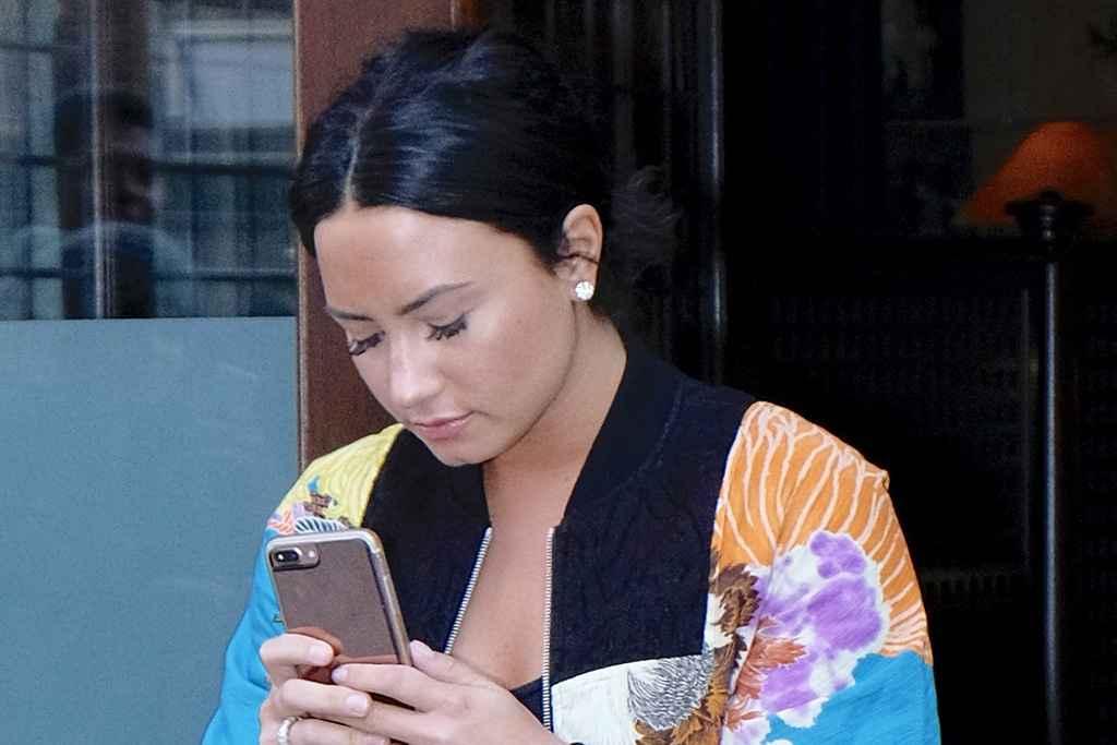 Demi Lovato s'est fait voler une photo nue