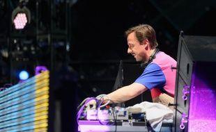 Martin Solveig, lors du festival de Coachella, en 2015.
