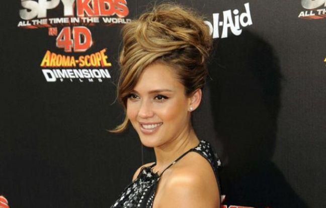 L'actrice Jessica Alba lors de l'avant-première mondiale de Spy Kids 4 à Los Angeles, le 31 juillet 2011.