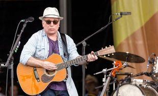 Paul Simon en concert  en Louisiane en avril 2016