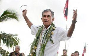 """Le président indépendantiste de la Polynésie française, Oscar Temaru, a appelé la population polynésienne à """"descendre dans la rue"""", dans le cas où la France refuserait de rétrocéder à la collectivité les atolls de Moruroa et Fangataufa, théâtre des expérimentations nucléaires entre 1966 et 1995."""