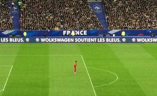 Capture d'écran de la boulette Volkswage, le 26 mars