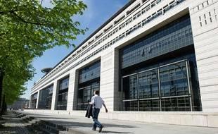 Le ministère de l'Économie, des finances et du commerce extérieur à Bercy.